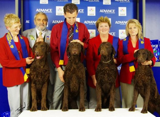 Winners Best Breeders Team Adelaide Royal 2011